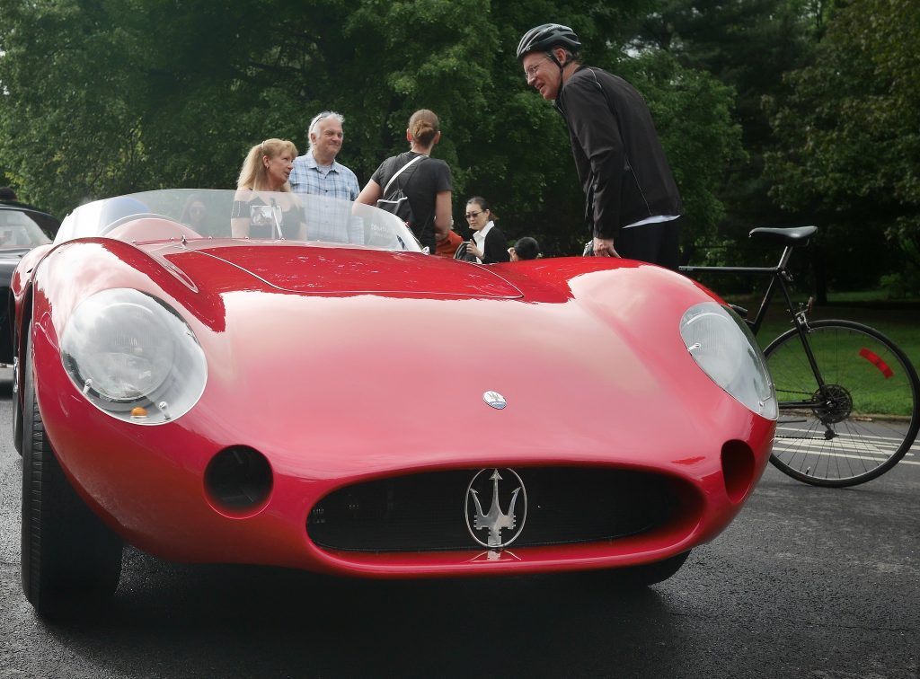 Maserati 300S. CarPark and Coffe autoshow