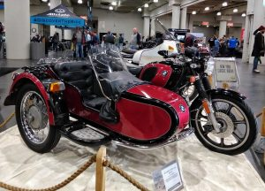 BMW Retro at NYC Motorcycle Show 2018